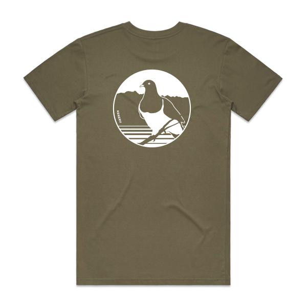 WWT T-shirt back